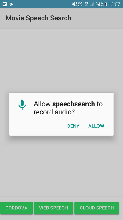 Adding speech recognition to an Ionic 4 App