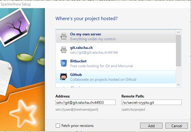 SparkleShare, a self-hosted GDrive, OneDrive, Dropbox alternative