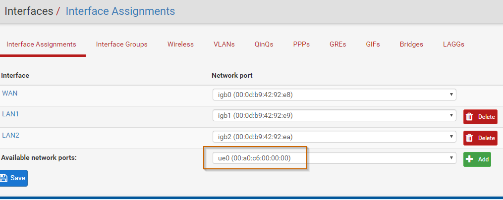 Netgear Aircard as Internet gateway with pfSense