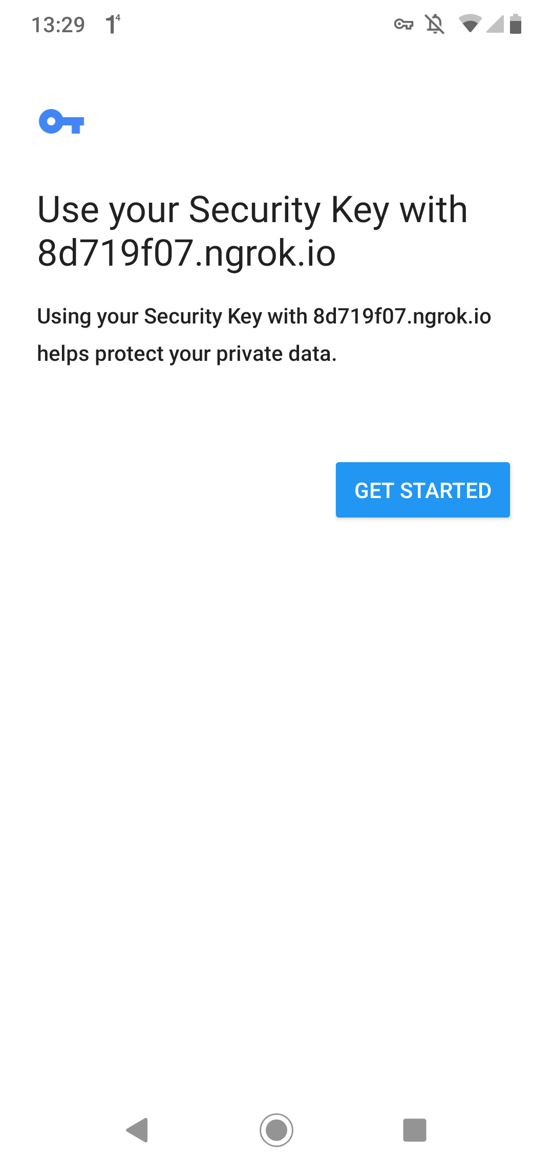 Creating a password-less sign-in with WebAuthn, Spring and